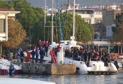139 kaçak göçmen böyle yakalandı