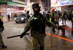 Hong Kongdaki sandık başında polisler olacak