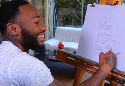 NKoudou hem karikatür çizdi, hem de soruları yanıtladı