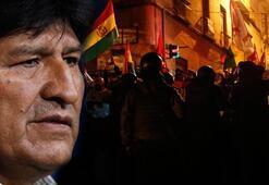 Morales hakkında ayaklanma çıkarmak suçlamasıyla soruşturma
