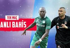 Konyaspor - Beşiktaş canlı bahis heyecanı Misli.comda