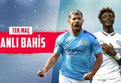 Manchester City - Chelsea maçı canlı bahis heyecanı Misli.comda
