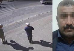 Yere düşen yaşlı adamın parasını çalan yankesici bıyığından yakalandı