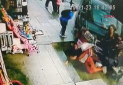 Dehşete düşüren kaza kamerada