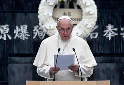 Papa Francis'ten dünyaya nükleer silahsızlanma çağrısı