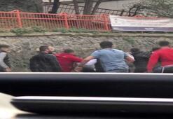 İstanbul'daki feci olayın ardından tekme tokat dövdüler