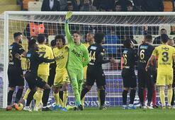 Yeni Malayaspor - Fenerbahçe maçında gol karmaşası