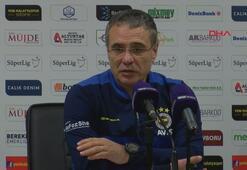 Ersun Yanal: Futbolda penaltı da gol de kaçar