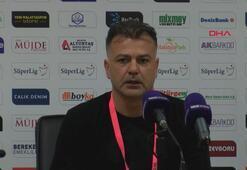 Murat Şahin: Büyük takımla oynadığınız maçtan 1 puan almak kötü değildir