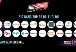 Big Bang 2019 finalistleri belli oldu