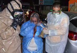 Aksarayda kimyasal toz paniği