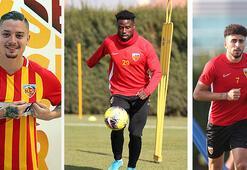 Kayserisporda 3 futbolcu kadro dışı bırakıldı