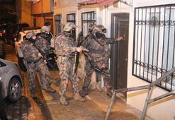 İstanbulda uyuşturucu operasyonu 40 gözaltı...
