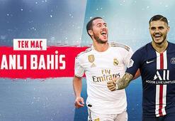 Real Madrid-PSG maçı canlı bahisle Misli.comda