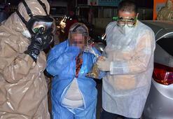 Zarfın içinden çıkan kimyasal tozdan etkilenen 5 kişiye karantina sürüyor