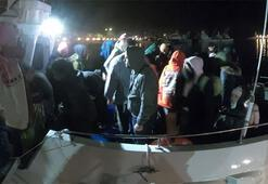 Balıkesir açıklarında 143 düzensiz göçmen yakalandı
