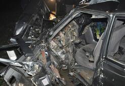 Tekirdağda kazada anne öldü, oğlu ağır yaralı