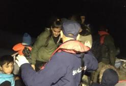 Enezde 36 kaçak göçmen yakalandı