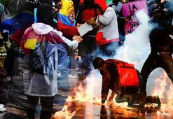 Kolombiyadaki protestolarda ölü sayısı 4e yükseldi