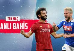 Liverpool 2-0 rövanşında Napoli karşısında Dev maç canlı bahisle Misli.comda...