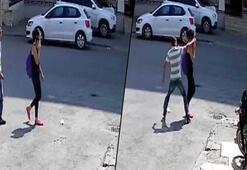 Sokak ortasında rezalet Genç kız neye uğradığını şaşırdı
