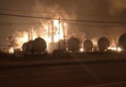 Son dakika... ABDde kimya fabrikasında büyük patlama