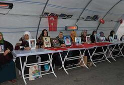 HDP önündeki eylemde 86ncı gün