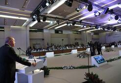 Cumhurbaşkanı Erdoğandan İSEDAK Toplantısında önemli açıklamalar