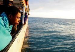 Albaron denizinde göçmen teknesi battı