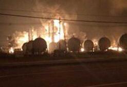 ABDde kimya fabrikasında büyük patlama