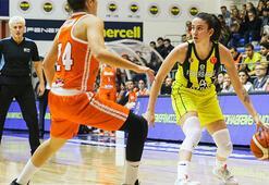 Fenerbahçe Öznur Kablo farklı kazandı: 58-43