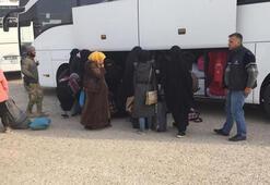 MSB: 593 Suriyeli Tel Abyaddaki evlerine dönüş yaptı