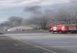Son dakika: Tuzlada fabrika yangını