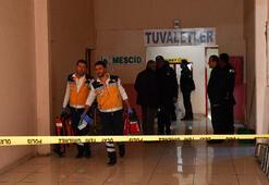 Otobüs terminali tuvaletinde ölü bulundu