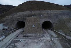 Kop Tünelinde çalışmalar hızlandı