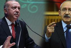 Erdoğandan Kılıçdaroğluna 250 bin TLlik tazminat davası