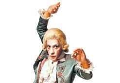 Mozart  oldu...
