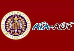 ATA AÖF sınav sonuçları açıklandı mı Atatürk Üniversitesinden açıklama var mı