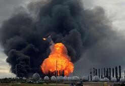 Fabrika patlamasından sonra zorunlu tahliye