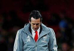 Arsenalde Emery dönemi sona erdi