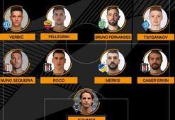 Caner Erkin ve Enzo Roco, UEFA Avrupa Liginde haftanın 11ine seçildi