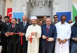 TBMM Başkanı Şentop, Cibuti 2. Abdülhamid Han Camisini açtı