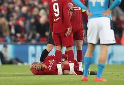 Liverpoolda sakatlanan Fabinho en az 4 hafta yok