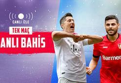 Bayern Münih – Bayer Leverkusen maçı canlı bahisle Misli.comda