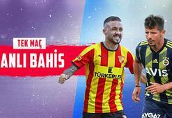 Göztepe – Fenerbahçe mücadelesi canlı bahisle Misli.comda