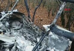 Rusyada bir helikopter düştü