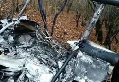 Rusyada bir helikopter düştü, pilot hayatını kaybetti