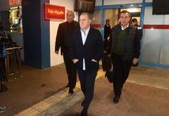 Galatasaray kafilesi Trabzonda