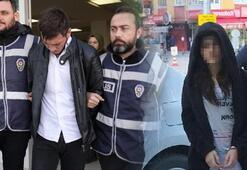 Konya'da, market soyan nişanlı çift yakalandı