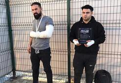 Yunanistandan Türkiyeye zorla gönderilen düzensiz göçmen: Ellerimi  bıçakla kestiler